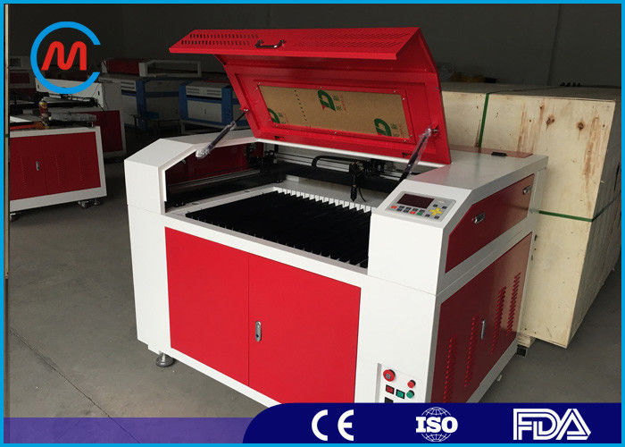High Precision Rotary Desktop Laser Engraving Machine For Wood Double Head Design