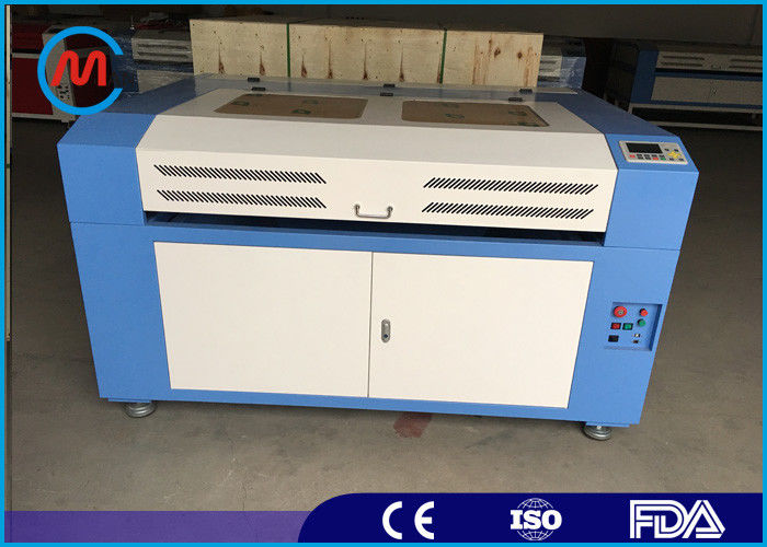 Laser Linear Guide Industrial Wood Laser Etching Machine Water Cooling Elegant Structure