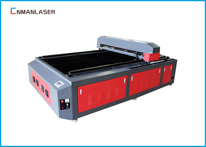 1325 100W 130W Fabric Wood Paper CO2 Cnc Laser Cutting Machine With Single laser head