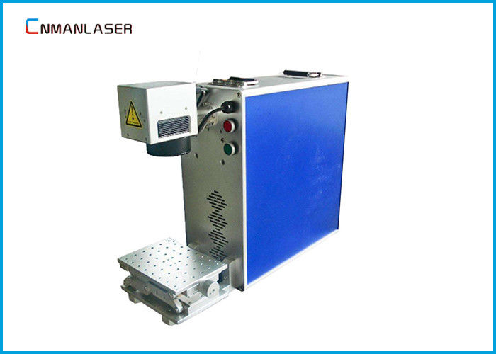 Instruments 20W Portable Fiber Laser Marking Machine With Air Cooling , Warranty 3 Years