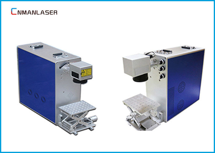 Ezcad Software 20w Desktop Fiber Laser Marking Machine For Gold Silver Copper brass