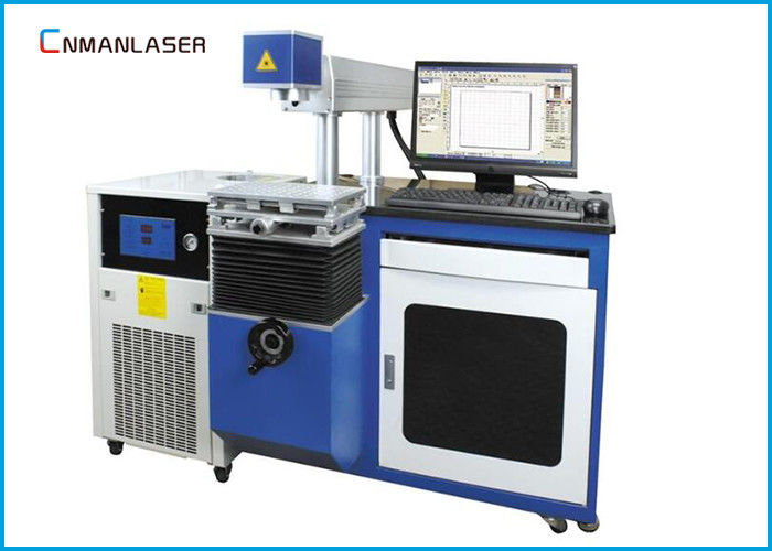 40W 60W 80W Glass Laser Tube CO2 Laser Marking Machine Equipment For Nonmetal 300*300mm