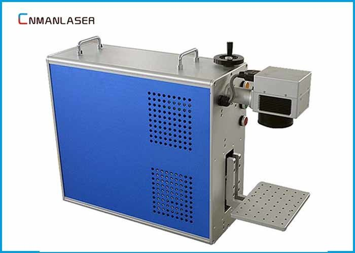 Plastic PCB Board Paper Portable Laser Etching Machine , Co2 Marking Machine With Laptop